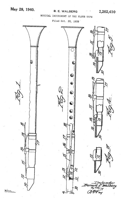 Patent US2202410 - Musical instrument of the flute type.JPG